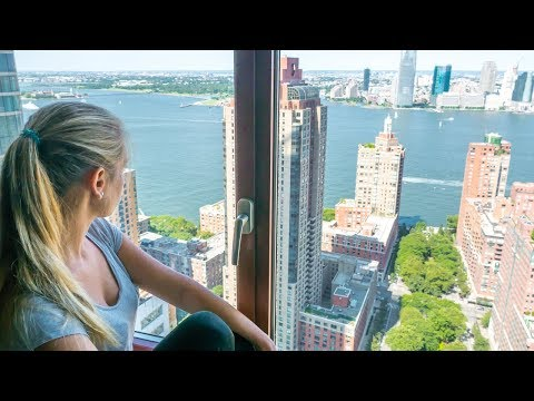 New York Hotel mit unglaublicher Aussicht - Holiday Inn Manhattan Financial District Roomtour