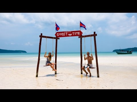 Traumstrand in Kambodscha - Koh Rong Samloem - Weltreise | VLOG #216