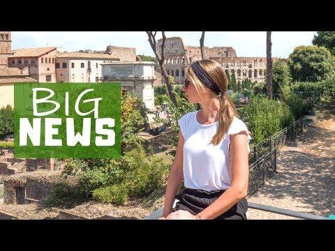 ROM: Es steht GROßES an! Forum Romanum • Italien auf Weltreise | VLOG #375