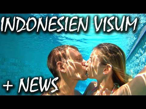 Indonesien Visum Anleitung + geniale Neuigkeiten - Bali   VLOG #105