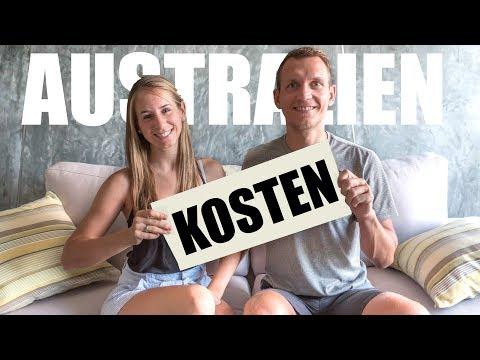 Australien Kosten und Ausgaben • 1 Monat Australien Reisekosten