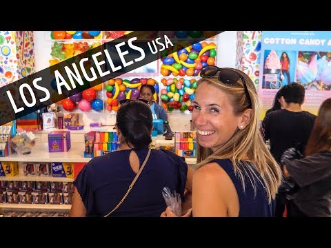 USA Anreise • LOS ANGELES Walk of Fame, Hollywood & Beverly Hills | VLOG #466