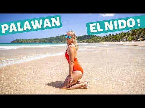 El Nido auf Weltreise • Nacpan Beach Strandparadies • Palawan Philippinen | VLOG #489