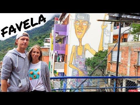 Rio de Janeiro Favela Tour • Favela Santa Marta Tour in Rio de Janeiro • Brasilien | VLOG #465