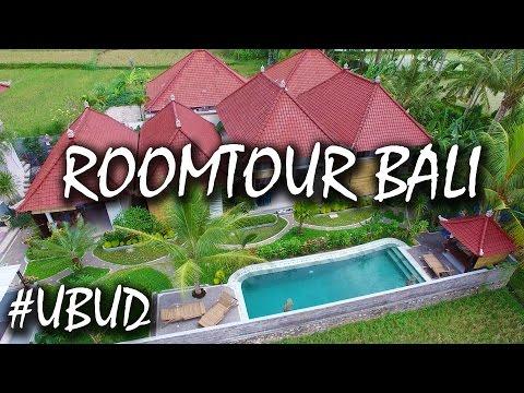 Bali Airbnb Luxus Unterkunft in Ubud - günstig und luxuriös - Airbnb Roomtour | #56