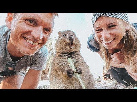 Rottnest Island und Quokkas • Bester Tag in Australien auf Weltreise | VLOG #399