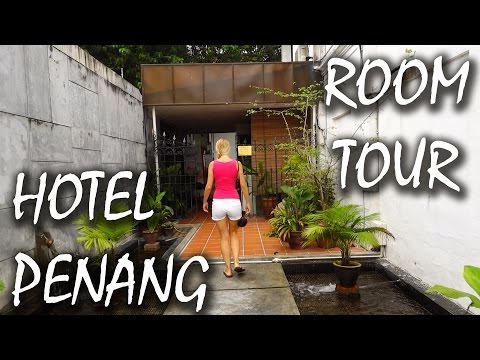 Penang George Town Hotel Roomtour - Red Inn Cabana, Malaysia | #32