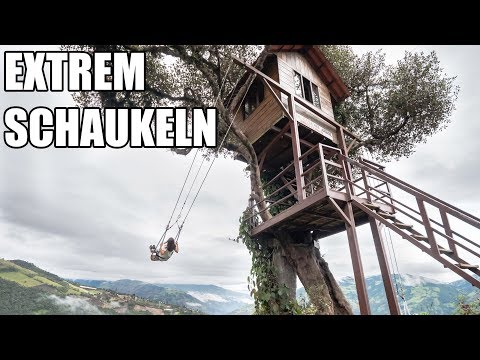 Banos verrückte Schaukel • Swing at the end of the World • Ecuador | VLOG #439