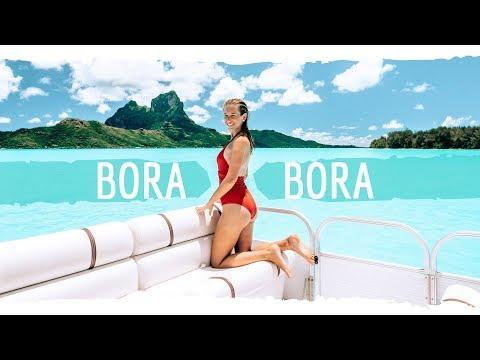 Bora Bora 🌴 Südsee Paradies mit eigenem Boot erkundet • Weltreise | VLOG #426
