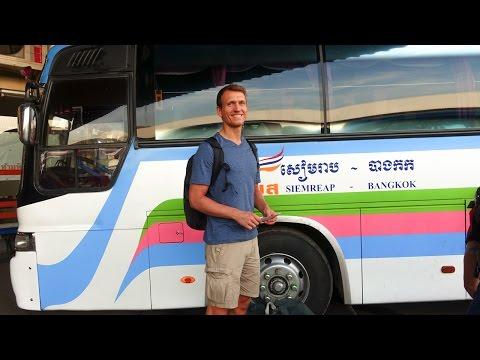 Kambodscha Anreise - Per Bus von Bangkok nach Siem Reap | VLOG #203
