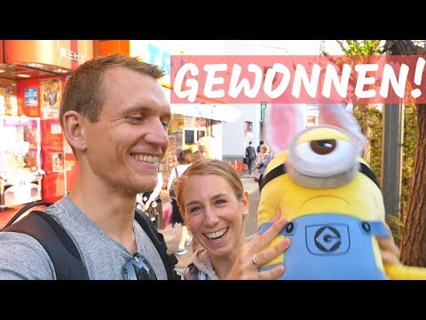 Tag 1 in Tokio und direkt gewonnen!!! | VLOG #353