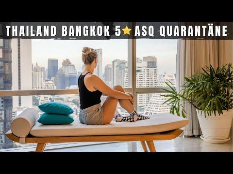 Thailand Kosten 5 Sterne Quarantäne Hotel Roomtour & Infos • ASQ Bangkok Preis, Essen, Zimmer...
