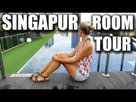 Geniales Hotel in Singapur - Roomtour Holiday Inn Express Clarke Quay
