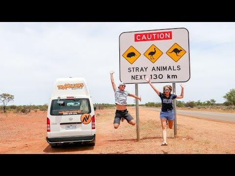 Australien Camping und weißer Strand voller Muscheln • Shark Bay • Shell Beach | VLOG #404