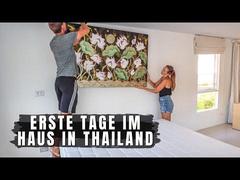 Thailand • Erste Tage im neuen Haus auf Koh Samui • Thailand Auswanderung | VLOG 533