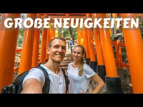 Kyoto Japan • Arashiyama Bamboo Forest und Fushimi Inari Schrein | VLOG #346