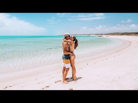 Türkises Meer und Emus auf dem Campingplatz • Exmouth Australien • Weltreise | VLOG #408