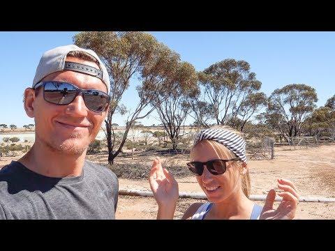 So schlimm war es noch nie! Mitten im Outback in Australien • Wave Rock • Weltreise | VLOG #409