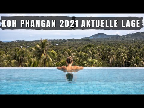 Koh Phangan Aktuelle Lage 2021 - Haad Rin #Thailand   VLOG 544