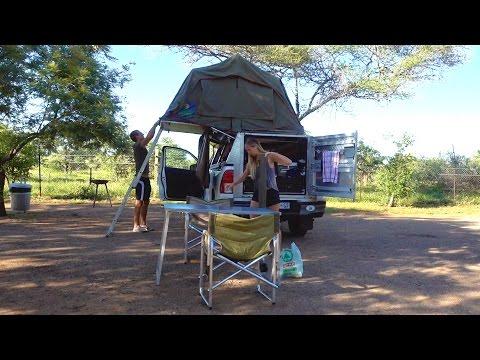 Camping im Krüger Nationalpark und Besuch auf dem Campingplatz - Südafrika | VLOG #195