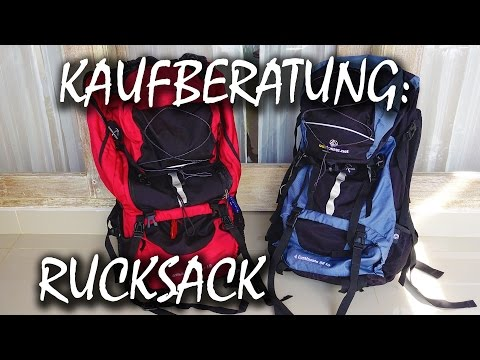 Backpacker Rucksack Kaufberatung - gute und günstige Rucksäcke für Weltreise und Co.