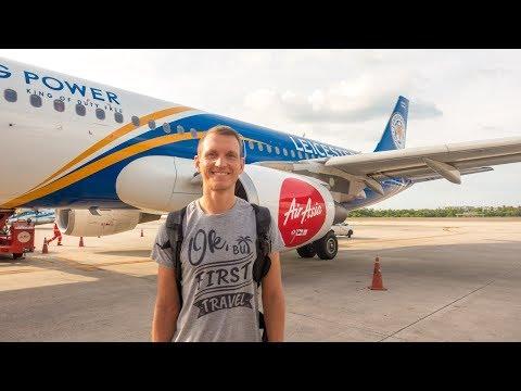 Bangkok nach Phuket mit Air Asia • Das hätten wir nicht erwartet! Weltreise | VLOG #315