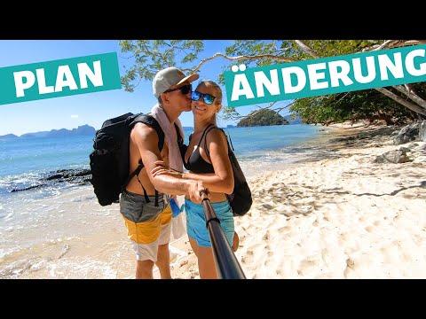Planänderung und El Nido Ziplining • Palawan Philippinen Vlog auf Weltreise | VLOG #490