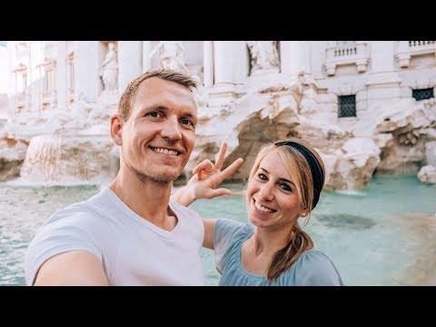 3 Jahre Weltreise • Unsere Gefühle • Trevi Brunnen Rom | VLOG #377