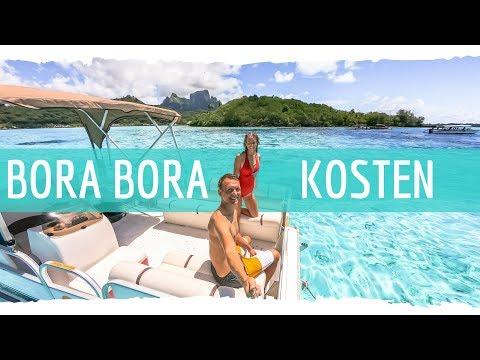 Bora Bora Kosten und Ausgaben 💰Das kostet eine Woche Bora Bora!
