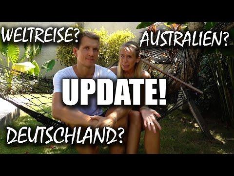 Update der Weltreise Route! Deutschland? Australien? Keine Weltreise?