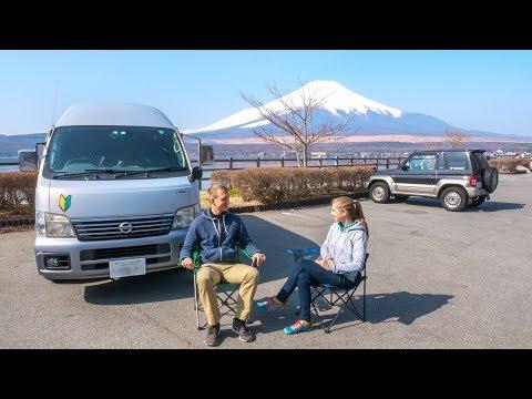 Mount Fuji Japan • Campen am Mount Fuji auf Weltreise | VLOG #342