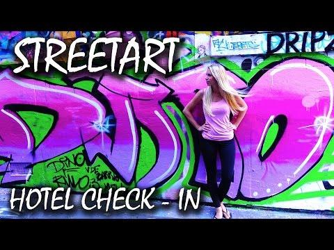 Hosier Lane Streetart - Melbourne - Backpacking Australien   VLOG #84
