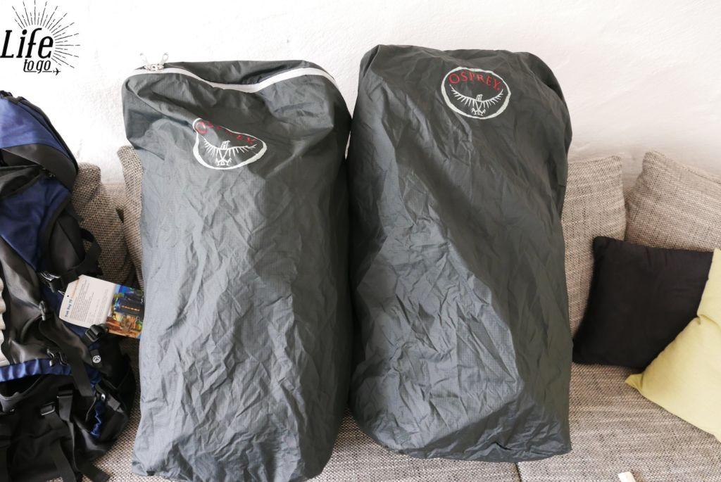 Osprey Backpacker Rucksack Schutzsack