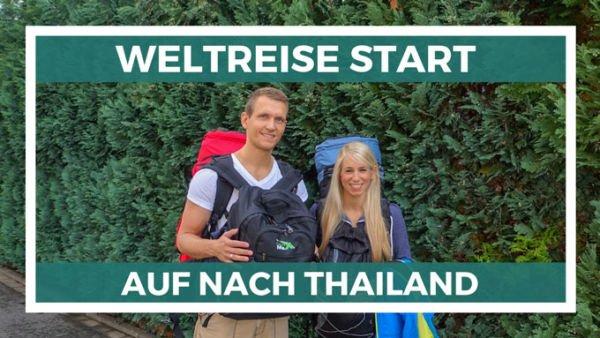 Weltreise Start