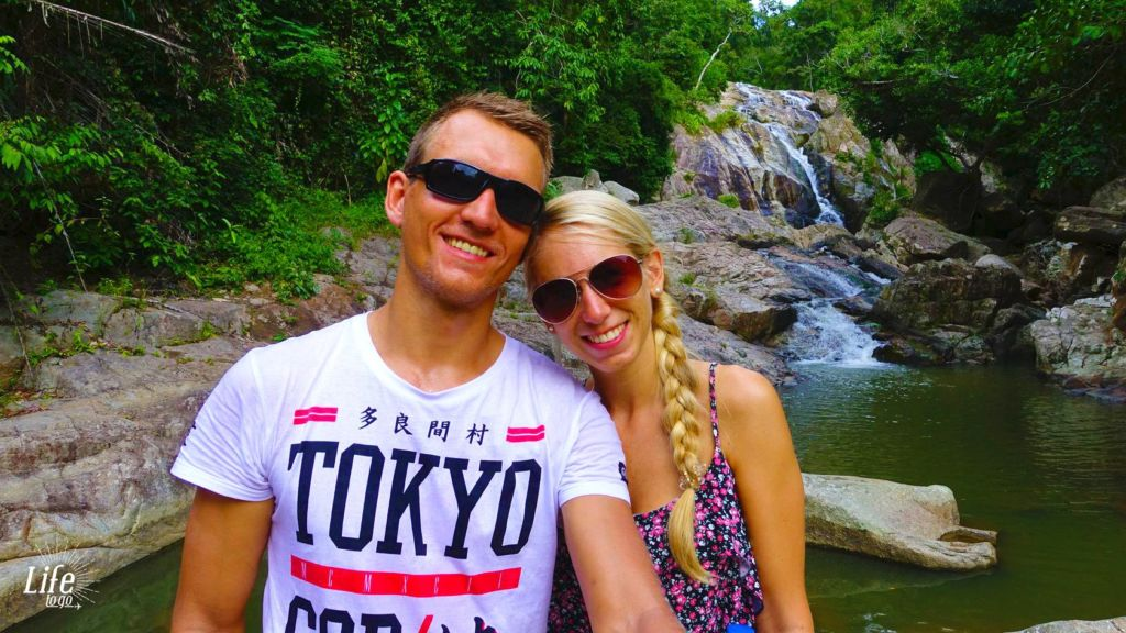 Wasserfall Hin Lad Koh Samui 19