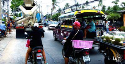 Autounfall auf Koh Samui