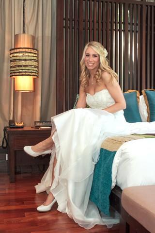 Jessica Braut Thailand Hochzeit Strand Koh Samui