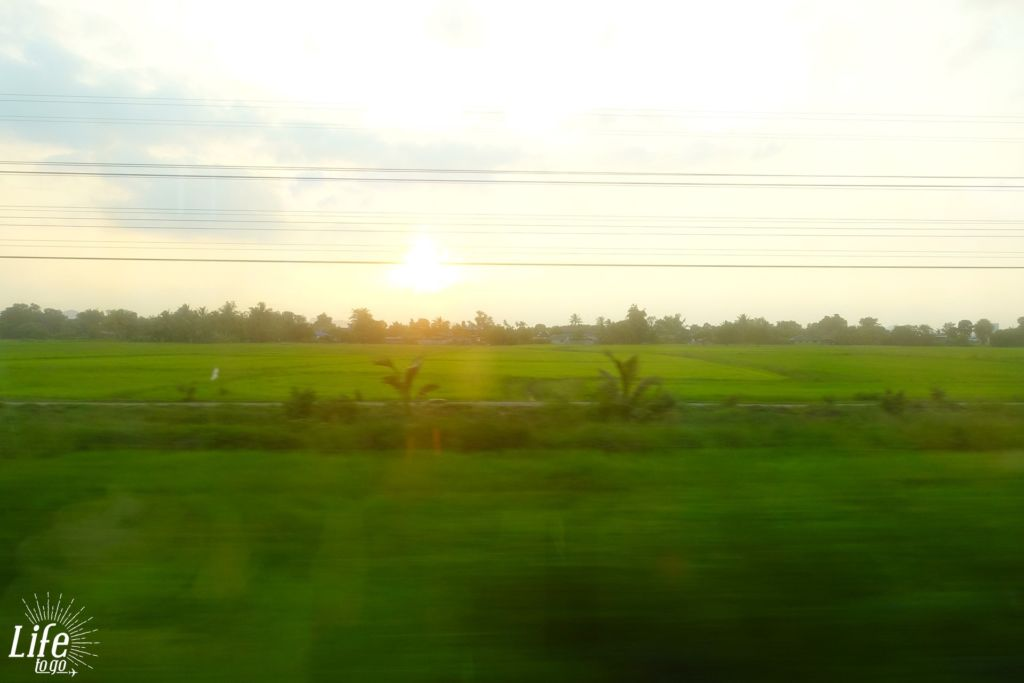 Bangkok nach Butterworth - per Zug in 24 Stunden - 3
