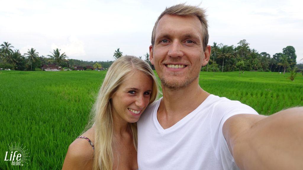 Unser zweiter Hochzeitstag auf Bali und unsere Beziehung auf Weltreise