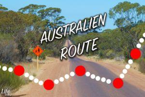 Unsere Australien Reiseroute quer durchs Land