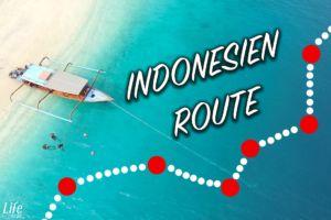 Unsere Indonesien Reiseroute quer durchs Land