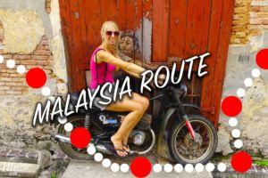 Unsere Malaysia Reiseroute quer durchs Land