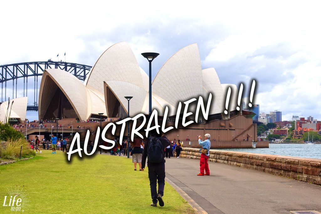 Unsere Ankunft in Australien - Flughafen Sydney und erste Eindrücke