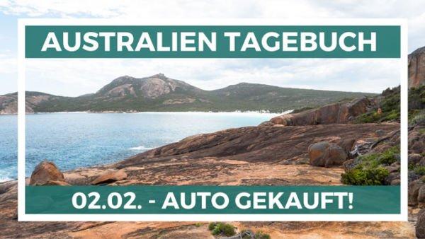Auto gekauft in Australien