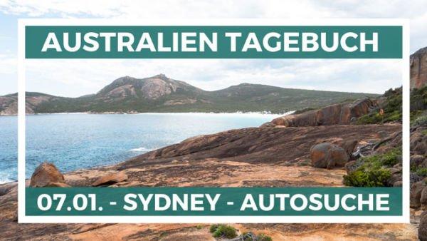 Autosuche in Sydney Australien Reisetagebuch