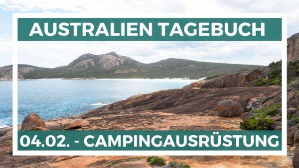 Campingausrüstung kaufen in Australien