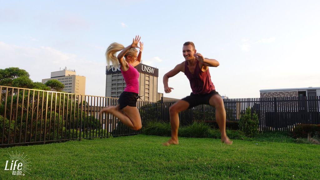 Reisetagebuch Australien - Etwas Spaß muss sein - Tag 7