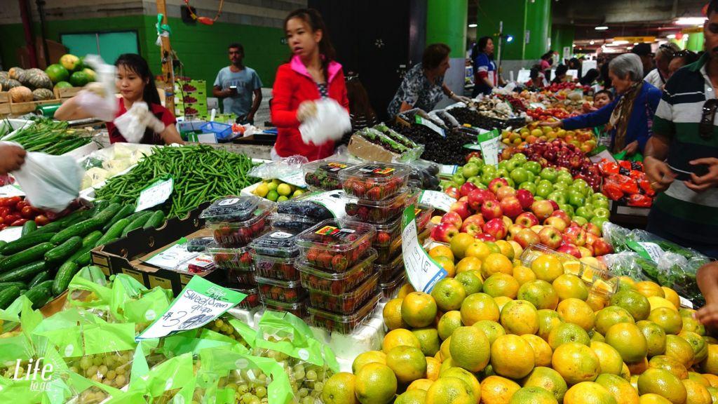 Reisetagebuch Australien - 17.01.2016 - Sydney's Paddy's Market - Tag 12