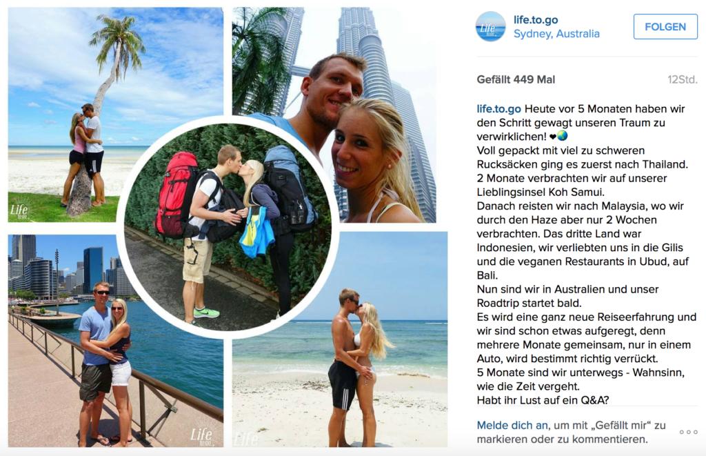 Reisetagebuch Australien - 18.01.2016 - 5 Monate auf Weltreise - Tag 13