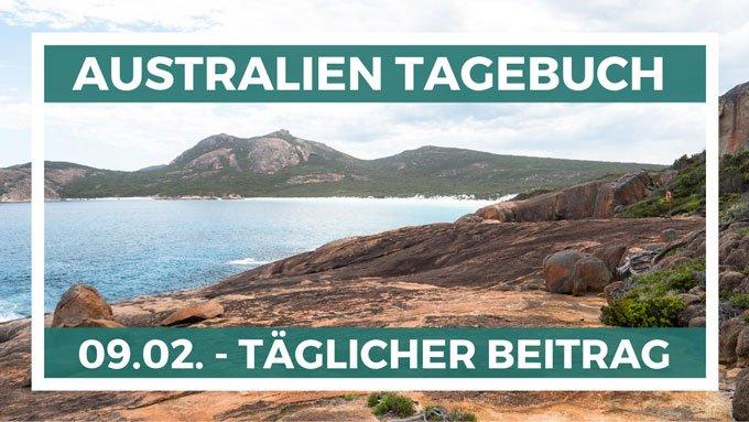 Täglicher Tagebuch Beitrag in Australien